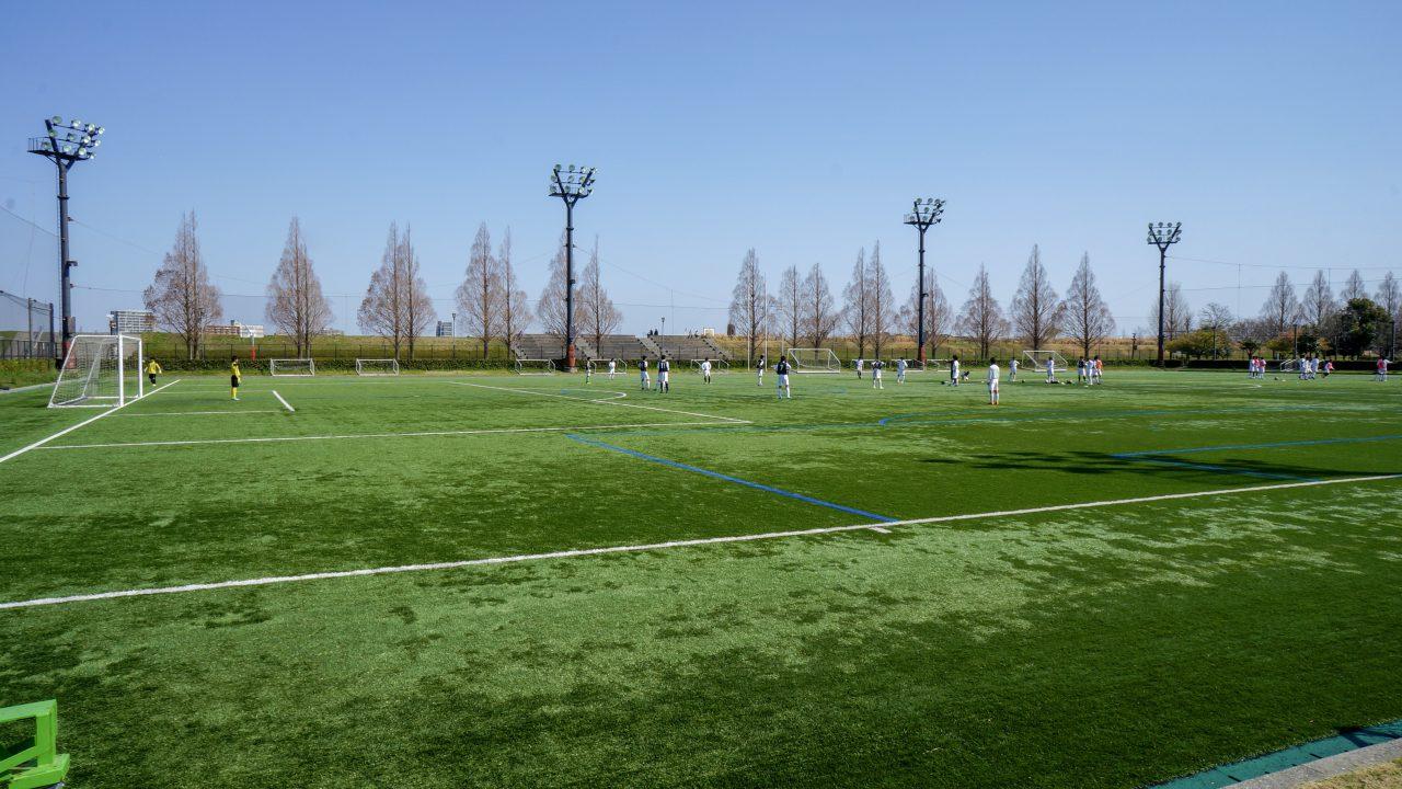 馬入 サッカー1