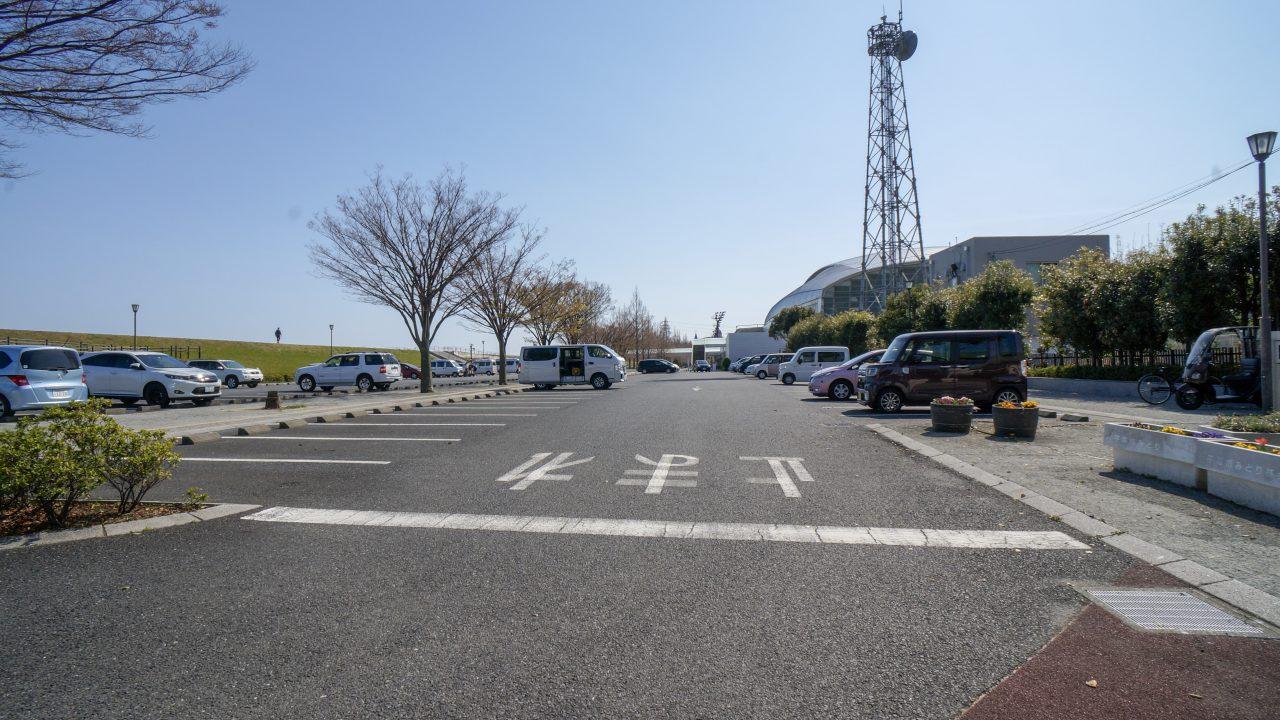 馬入 駐車場2