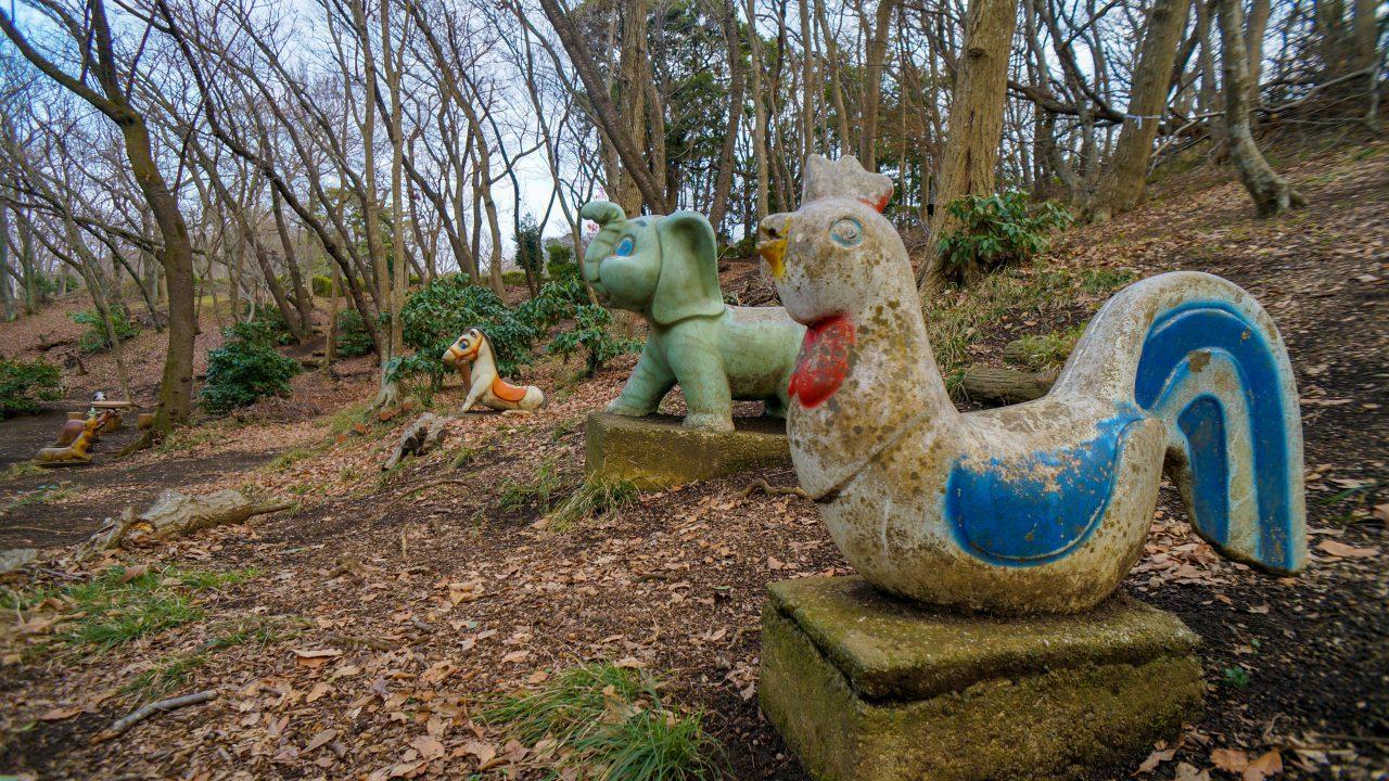 湘南平 子供の森 銅像