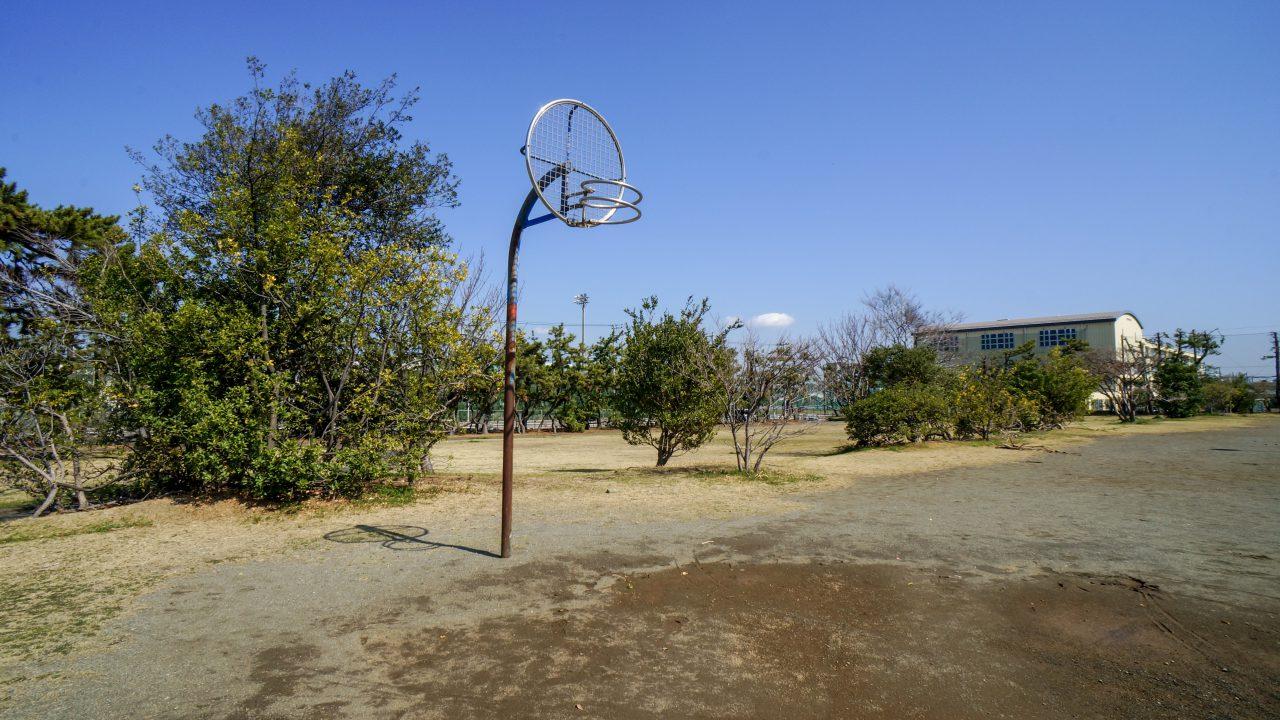 湘南海岸公園 バスケットゴール