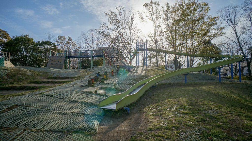 大塚山公園 滑り台2