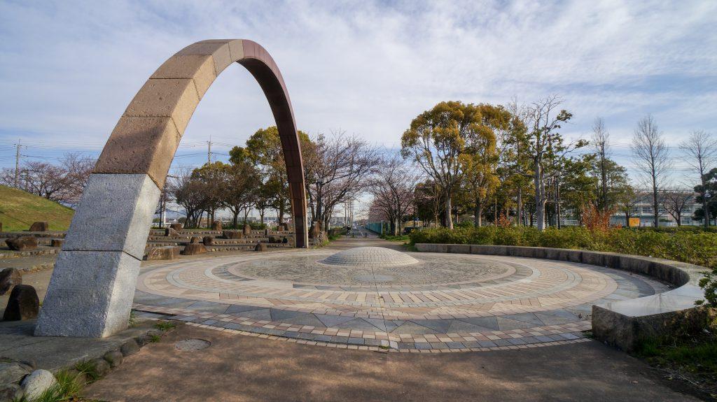 大塚山公園 モニュメント