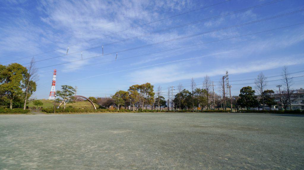 大塚山公園 広場