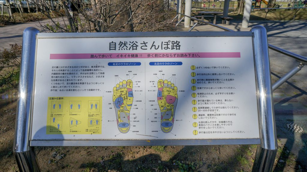 桜ヶ丘公園 つぼ説明