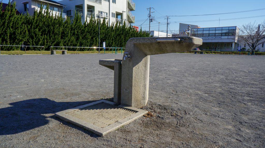 桜ヶ丘公園 水飲み場