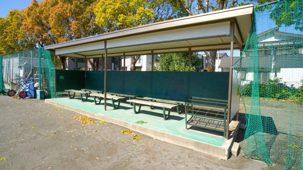 須賀公園 ベンチ