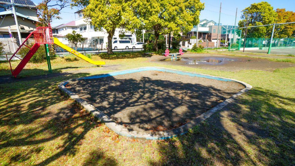 須賀公園 砂場