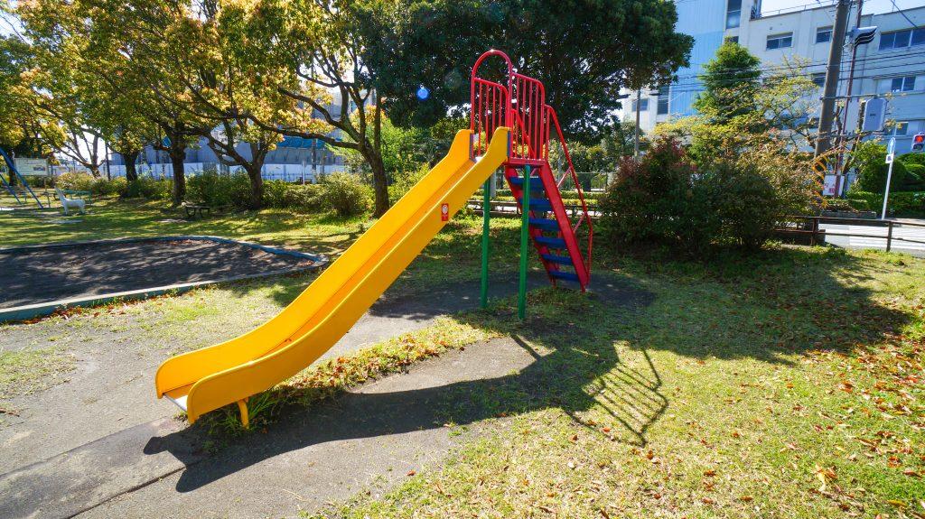 須賀公園 すべり台