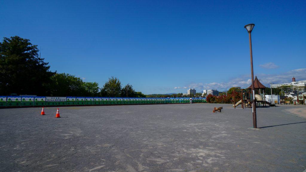 塚越 広場