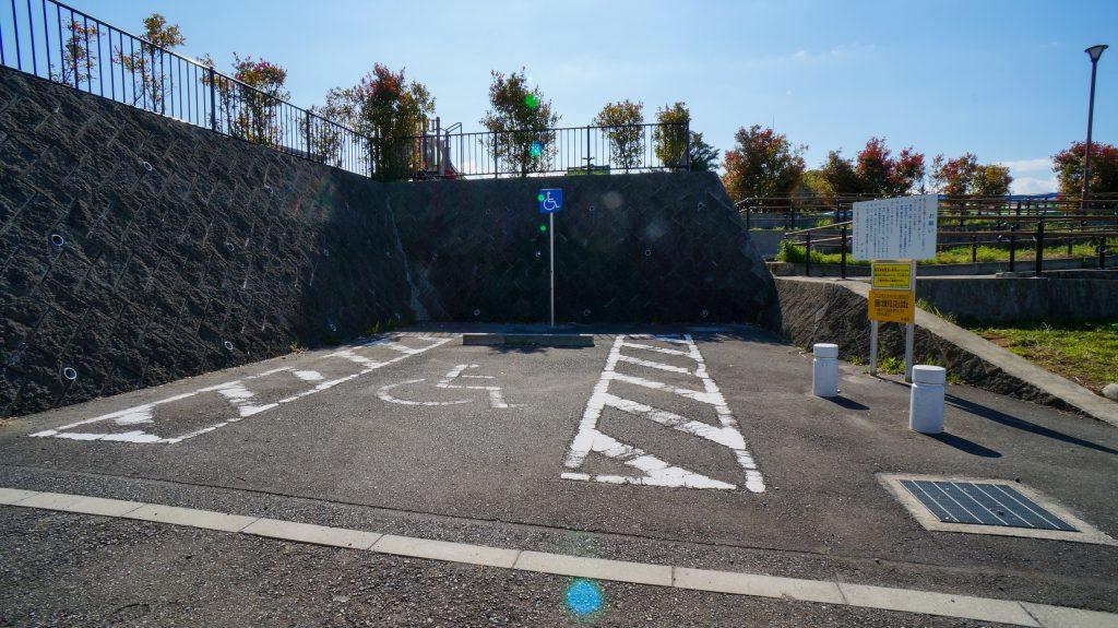 塚越 駐車場