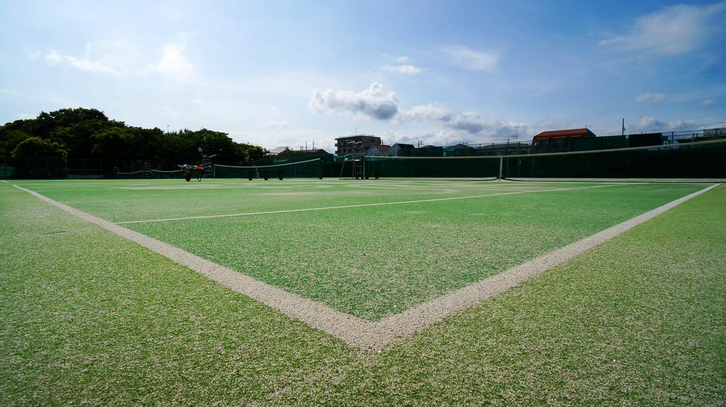 桃浜 テニスコート 人工芝