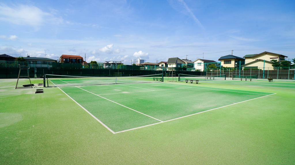 桃浜 テニスコート