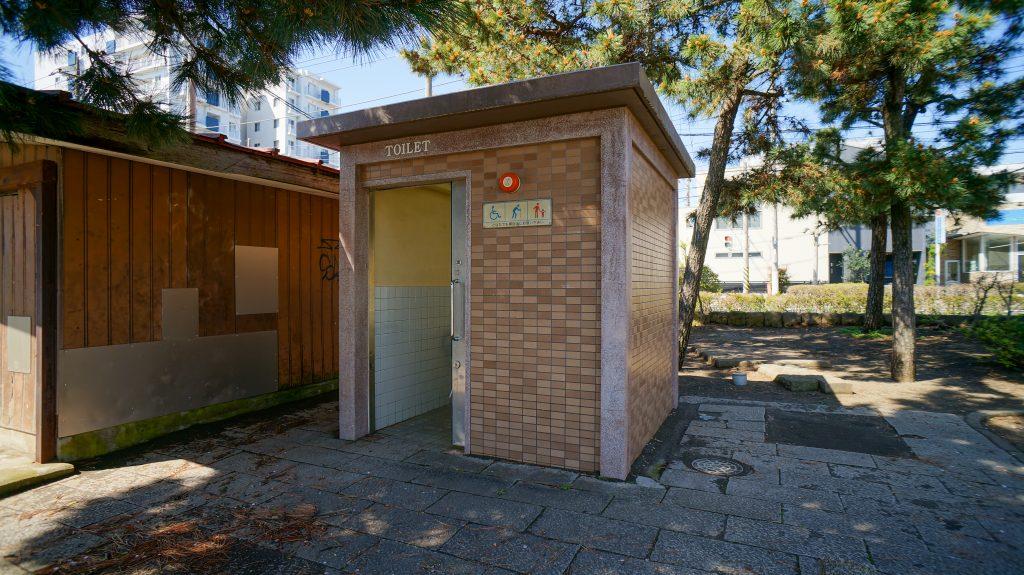 桃浜 トイレ