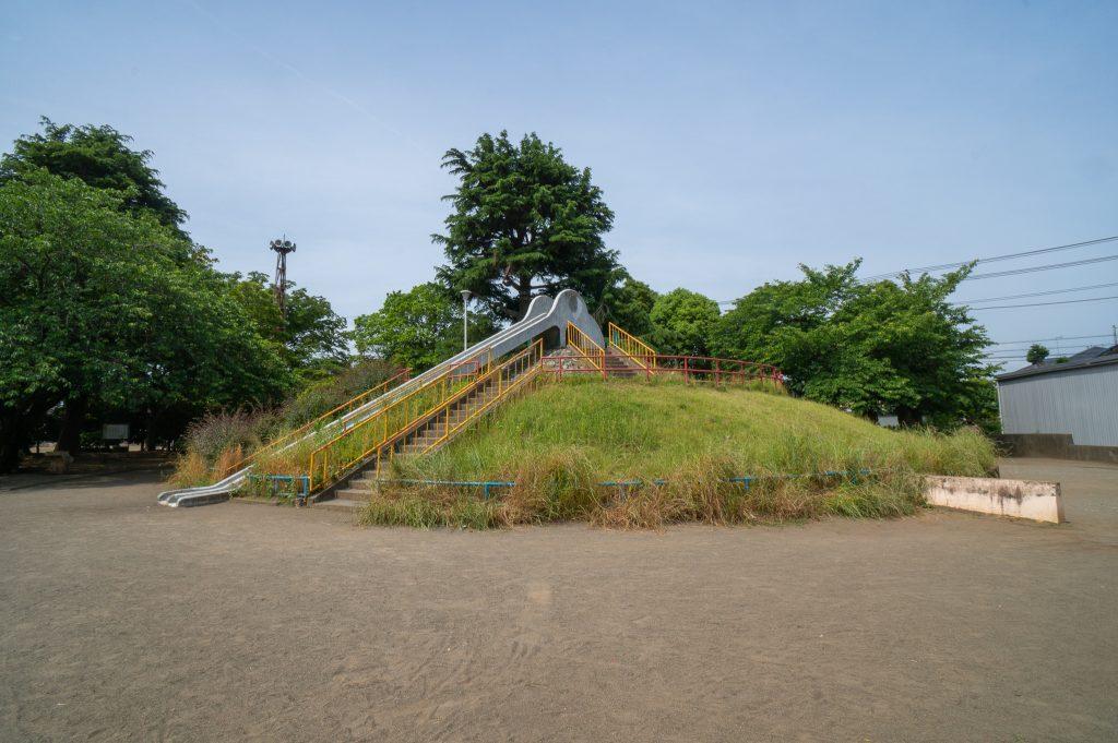 大久保公園 すべり台
